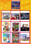 Fav. Cartoons and Anime Meme