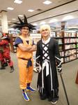 Goku and Ichigo
