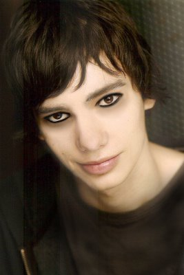 Devon Bostick With Eyeliner by chuchino37