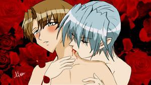 Ma-kun and Ren-kun from Karin by ChangXian
