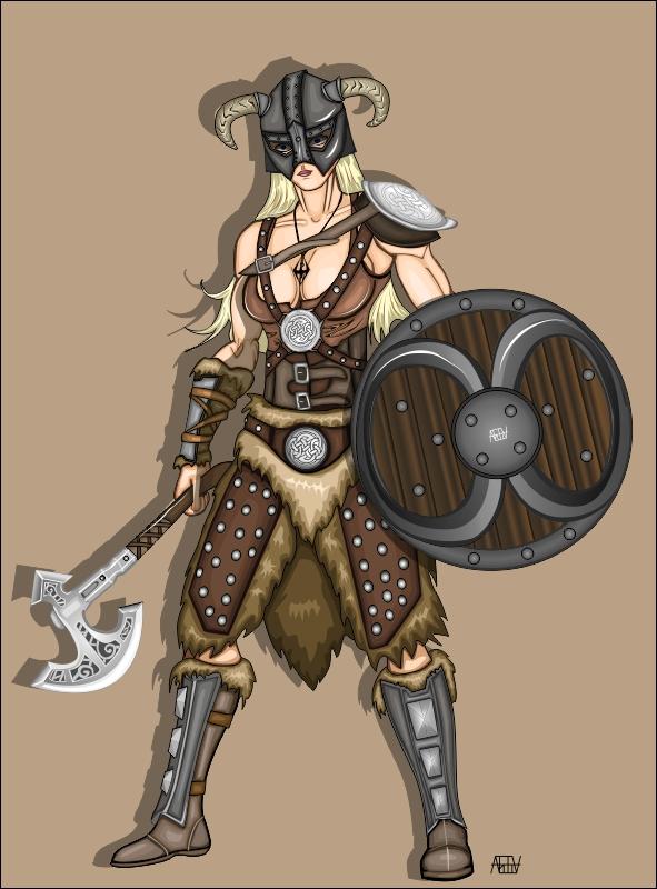 Dovahkiin From Skyrim by andreiak