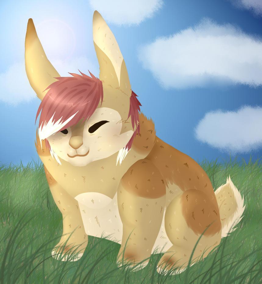 tiny rabbit by iris-toby