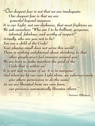 Place of Whispers - with quote by Amadhi