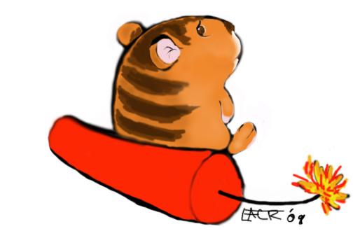 Fuzz the Dynamite Hamster by EACR on DeviantArt