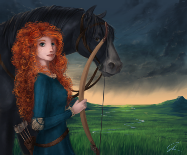 BRAVE by audelade