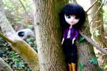 Pandora stuck in a tree