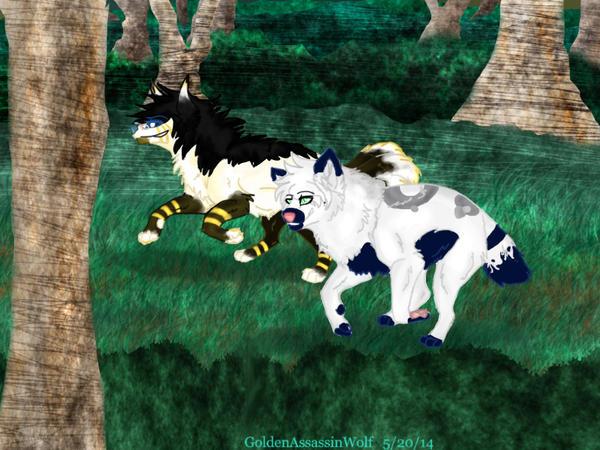 GoldenAssassinWolf and WolfPaths by GoldenAssassinWolf