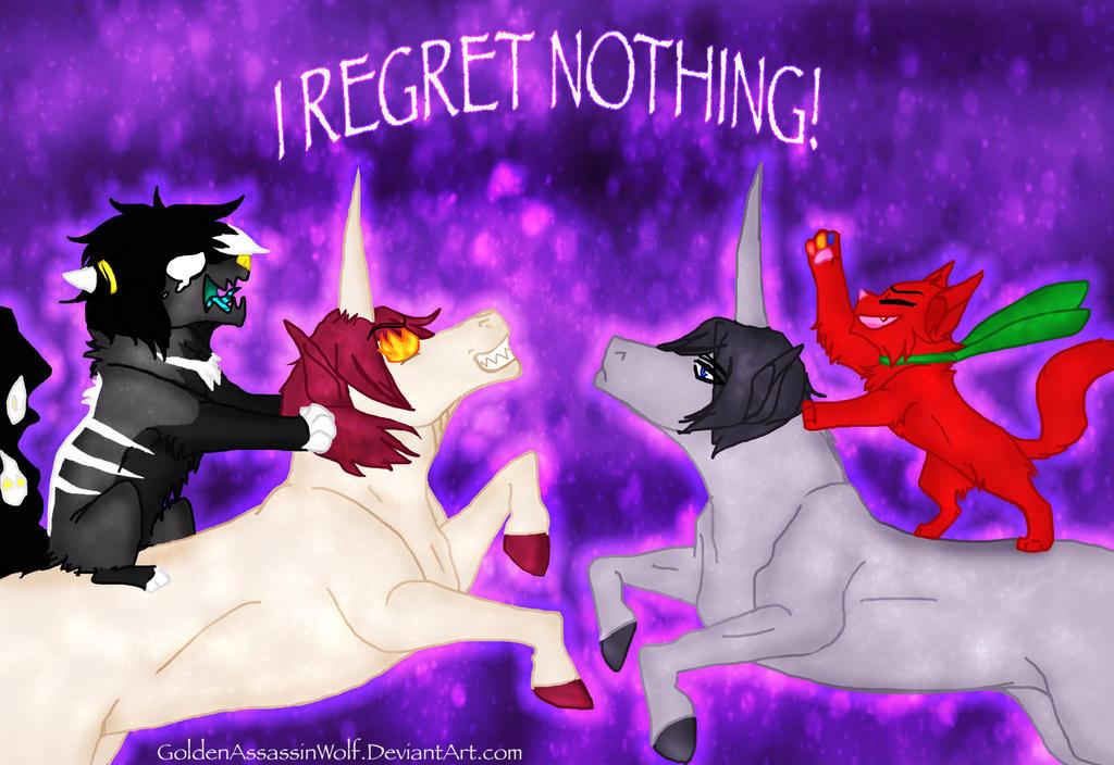 The Unicorns of Free! by GoldenAssassinWolf