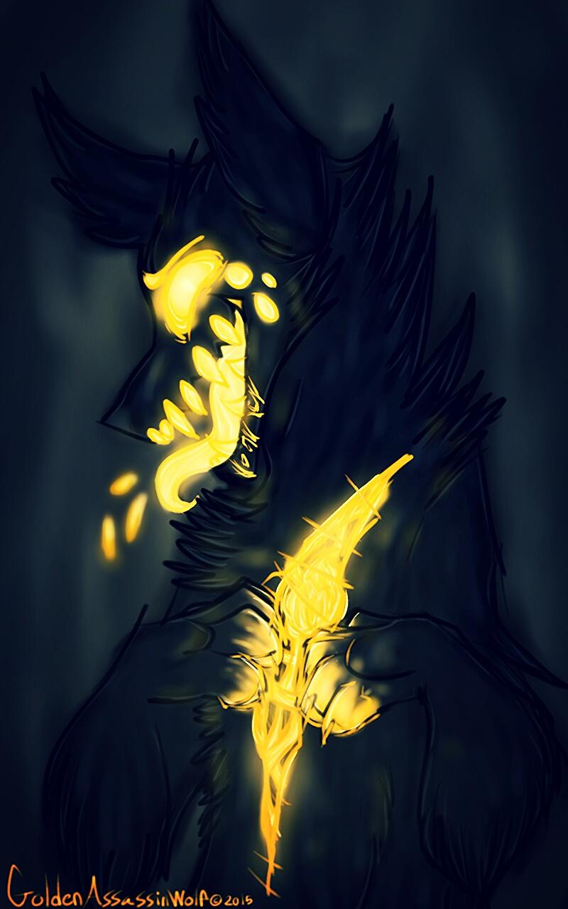 Open Heart: version 2 by GoldenAssassinWolf