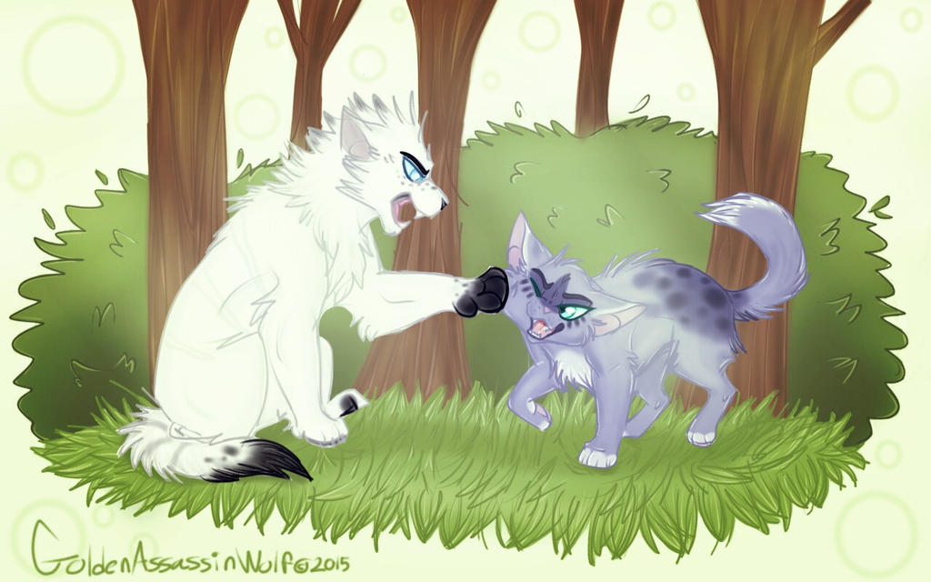 .:AT:. Get out my face by GoldenAssassinWolf