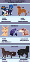 Commission Prices - 2019 - OPEN