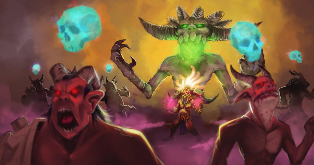 Diablo-III-Fan-Art-Contest : Witch Doctor