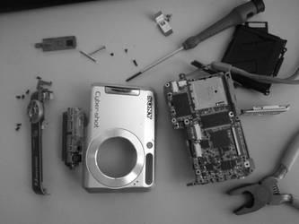 R.I.P Sony DSC-S650 by PsyChip