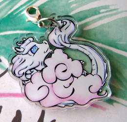 Baby Sky Dragon charm by spearcarrier