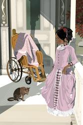 Mid-victorian girl