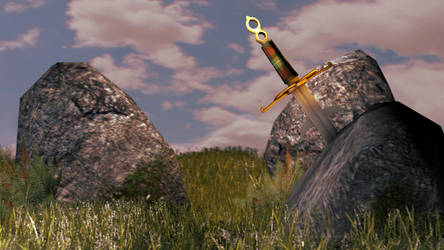 Sword in the stone by vonklerks