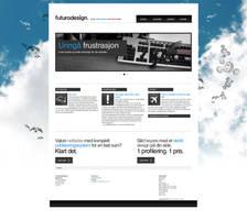 Futuro Design - Portfolio site by Nisbo