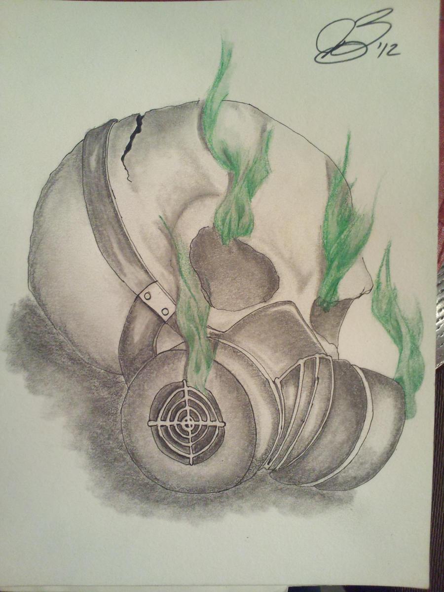 smoking skull by jarabu on DeviantArt