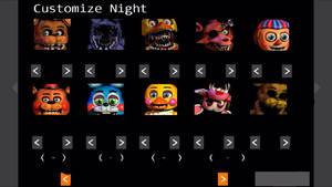 FNaF 2 Custom Night Meme by xXSweet-PotatoXx