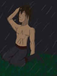 SJ Contest 01Shirtless in Rain by irishgal487