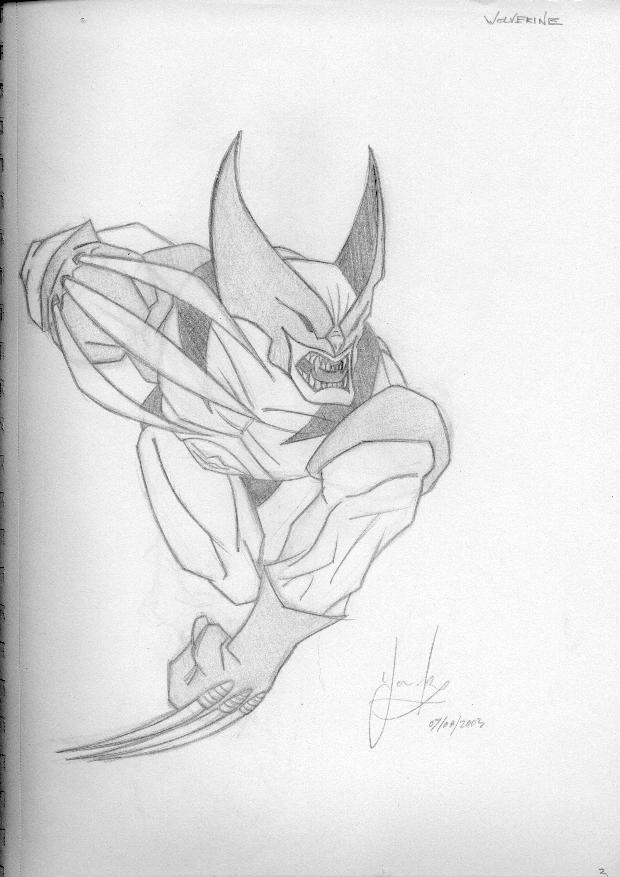 Wolverine by Nic-animator