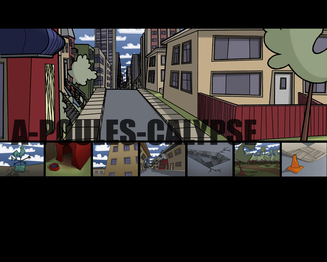 City Scapes - french by Nic-animator