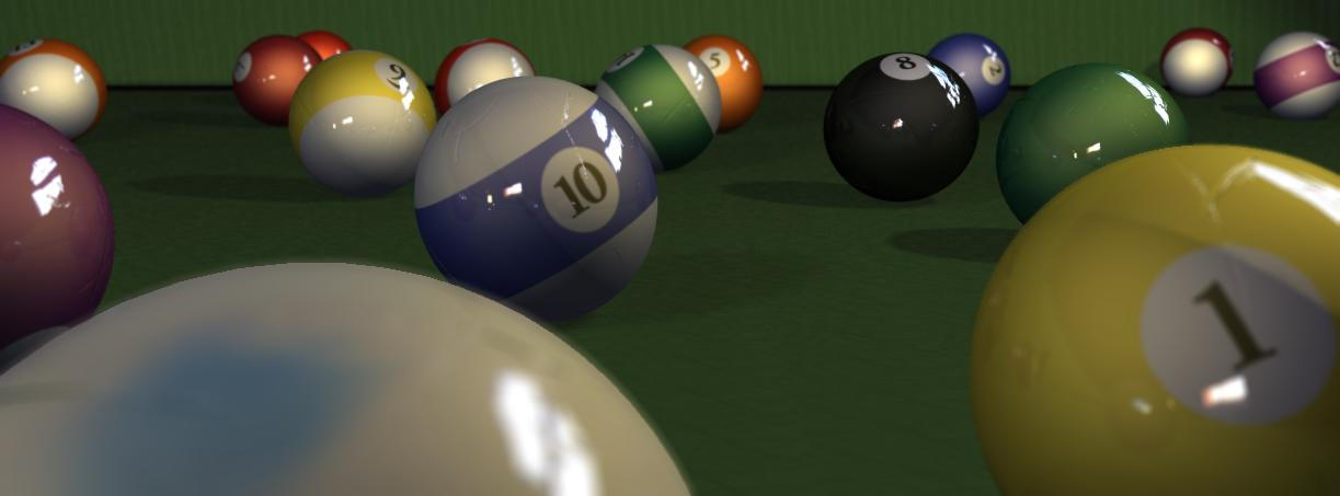 billiard by Nic-animator