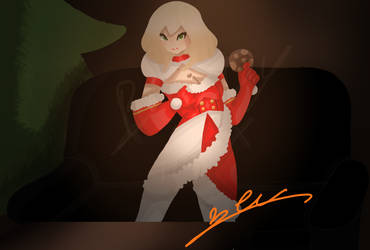 splash art Mother christmas april