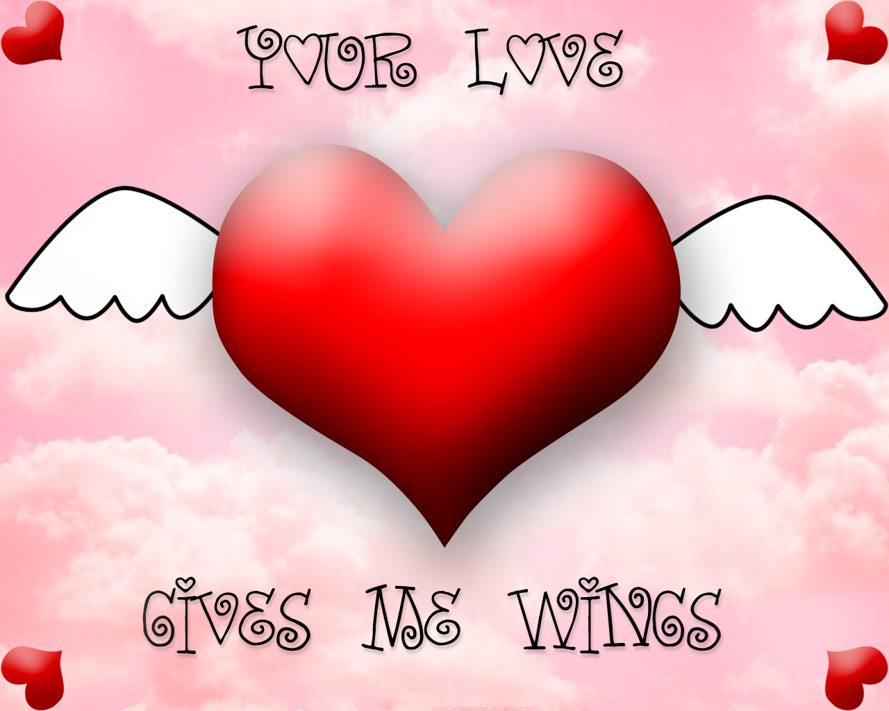 Love Gives Me Wings!!