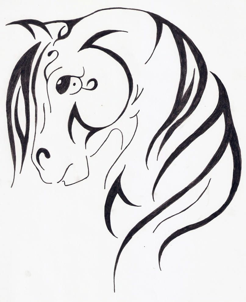 Drawing For Kids Step By Step Printables Horse