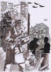 German soldier in Stalingrad