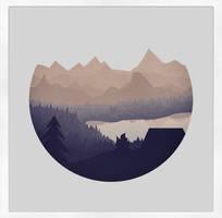 Remote Location - Framed by ChrisChernewych