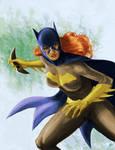 Batgirl Ready for Battle