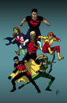 Young Justice colors