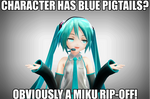 Yo, it's another one of my Miku memes by ScandinavianSweetie