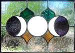 Triple Moon Stained Glass
