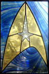 Star Trek Stained Glass