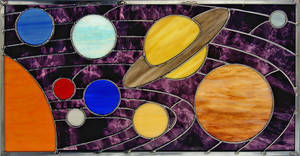 Stained Glass Solar System