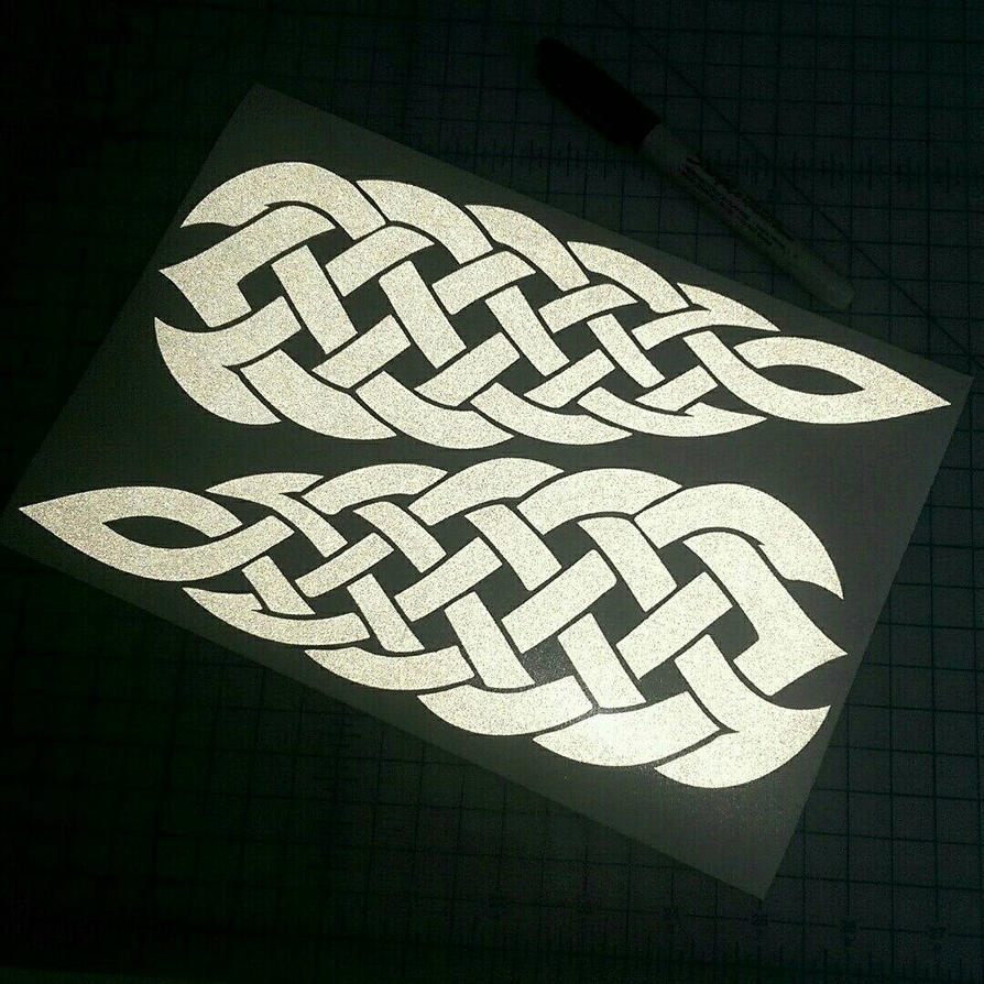 Celtic knotwork decals by bigblued