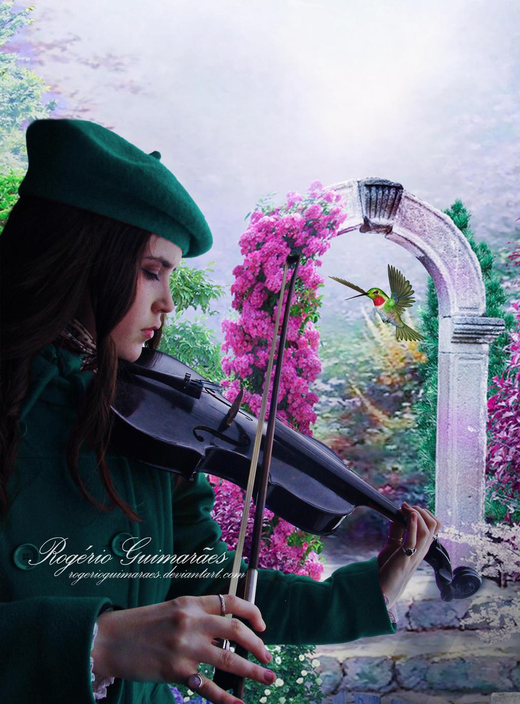 Spring Garden Serenade by RogerioGuimaraes
