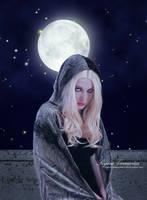 Portrait Under Moonlight by RogerioGuimaraes