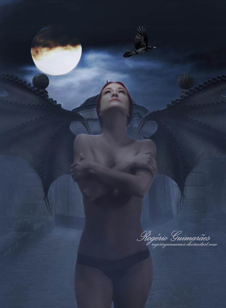 Lone In Dark by RogerioGuimaraes