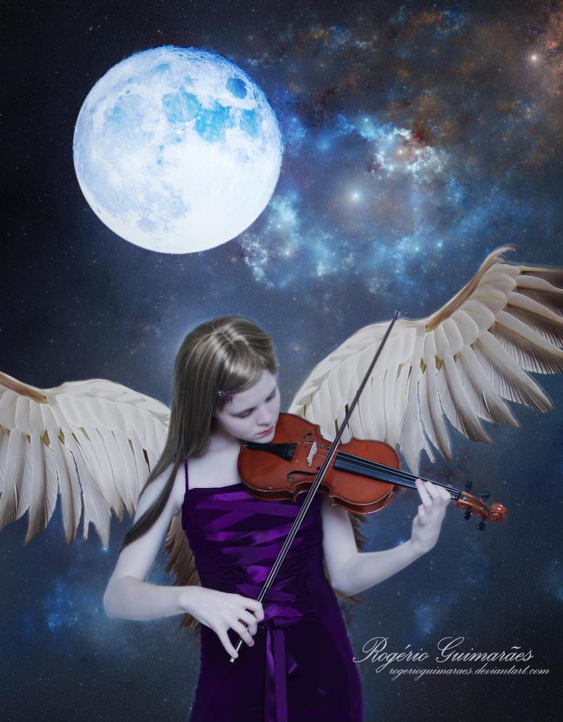 Moonlight Angel's Sonata by RogerioGuimaraes