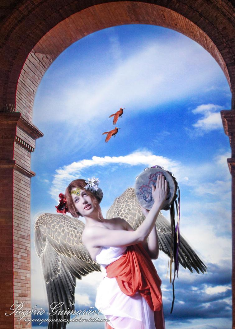 Angel of Music by RogerioGuimaraes