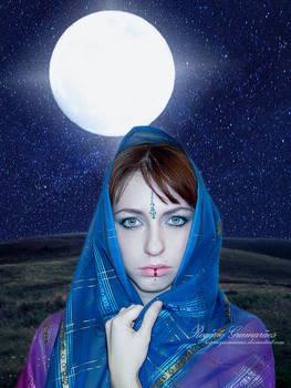Portrait Under Moonlight III