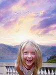 Innocence Grin at Sunset