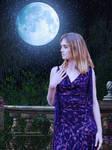 Dream In Moonlight Garden