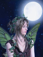 Wild Fae Under Moonlight by RogerioGuimaraes