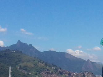 Mountains View of Rio by RogerioGuimaraes