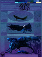 Character reference: Gallivant the Crow by noctem-tenebris